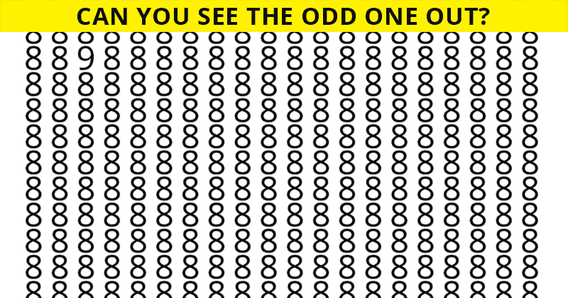Only 4% Of People Can Achieve 100% In This Difficult Odd One Out Visual Puzzle. How About You?