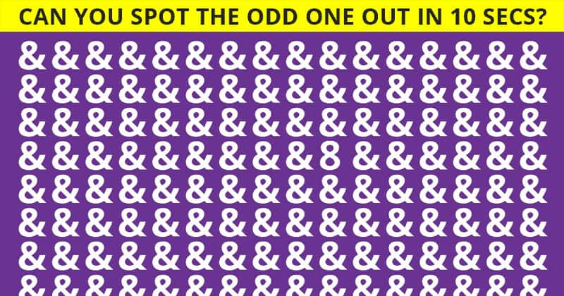 Only 1 In 30 Sharp-Eyed People Can Ace This Difficult Odd One Out Quiz. How About You?