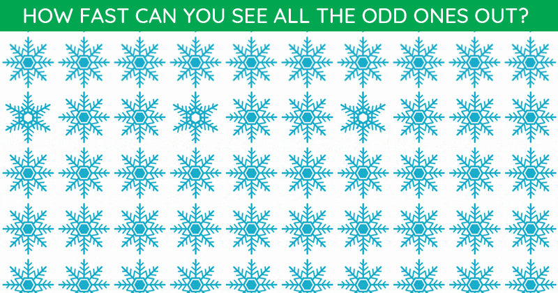 These Brilliantly Creative Odd One Out Visual Puzzles Will Test Your Eyesight!