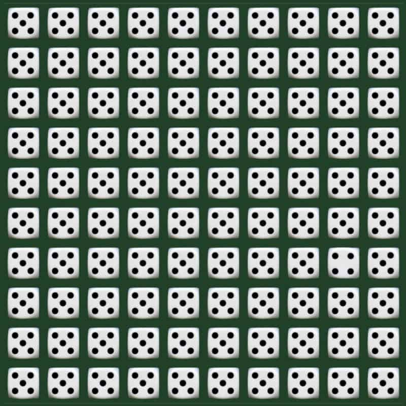 Only 1 In 30 Sharp-Eyed People Can Spot The Difference Dice In Less Than A Minute