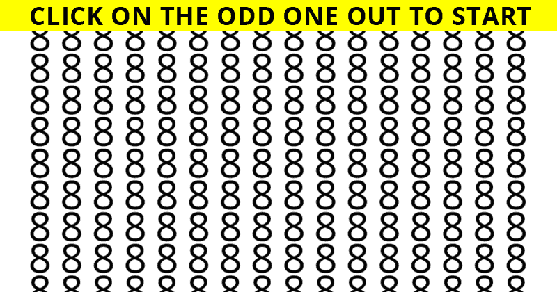 Only 4% Of People Can Achieve 100% In This Odd One Out Visual Challenge. How About You?
