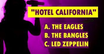 Are You A Certifiable Rock Genius?