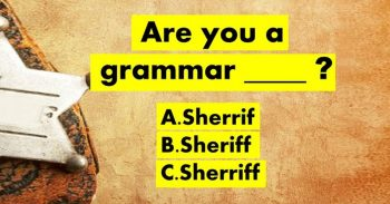 Can You Pass The Toughest Grammar Police Test?
