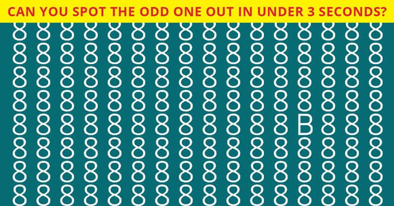 How Fast Can You Find The Odd One Out In This Picture?