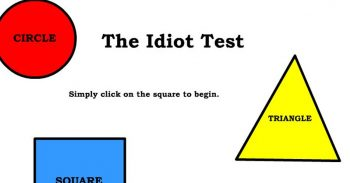 Most People Can't Pass This Simple Idiot Test, Can You?