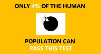 Only Highly Intelligent People Can Pass This Test