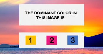 The Most Beautiful Test In The World Will Determine Your Dominant Emotional State