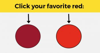 This Simple Colour Test Can Discover Your Dominant Gender