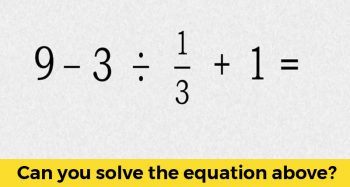 This Simple Elementary Math Problem Is Stumping The Internet. Can You Solve It?