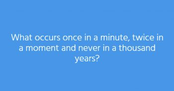 Try These 12 Tricky Riddles To Exercise Your Brain