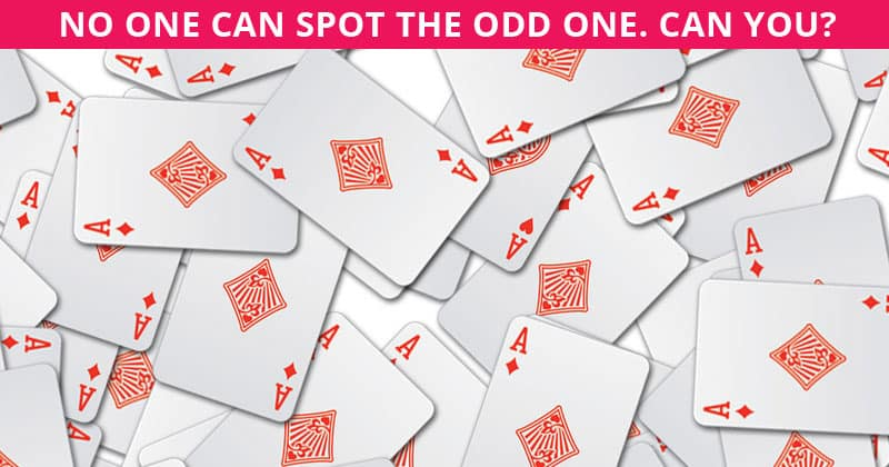 Very Few People Can Complete This Odd One Out Visual Challenge In Less Than 60 Seconds. Can You?