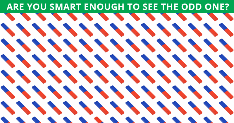 Only 1 In 30 People Can Ace This Tough Odd One Out Visual Test. How About You?