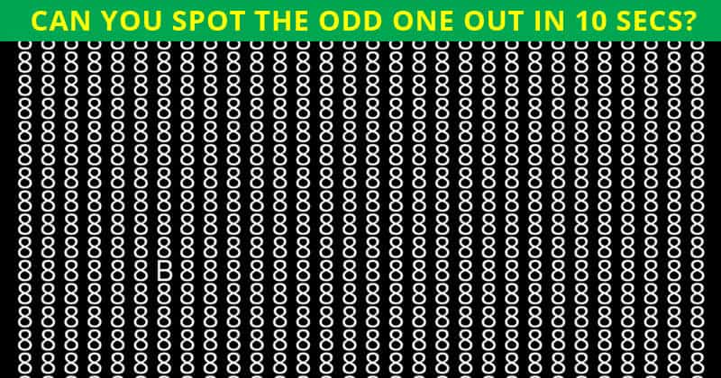 Only 2 In 99 Americans Can Find Odd Number Out Test In 10 Seconds. Can You?