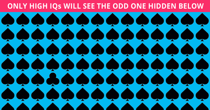 Only 1 In 30 Sharp-Eyed People Can Achieve 100% In This Tough Odd One Out Test. How About You?