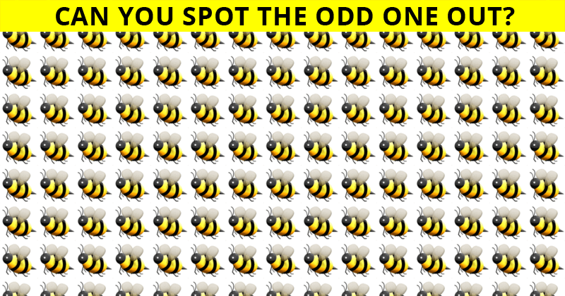 Almost No One Can Beat This Visual Test. Are You Up To The Task?