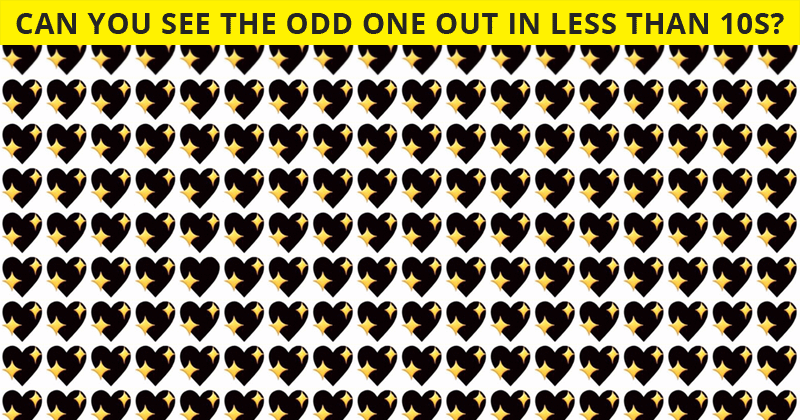 Only 1 In 30 People Can Achieve 100% In This Tough Odd One Out Test