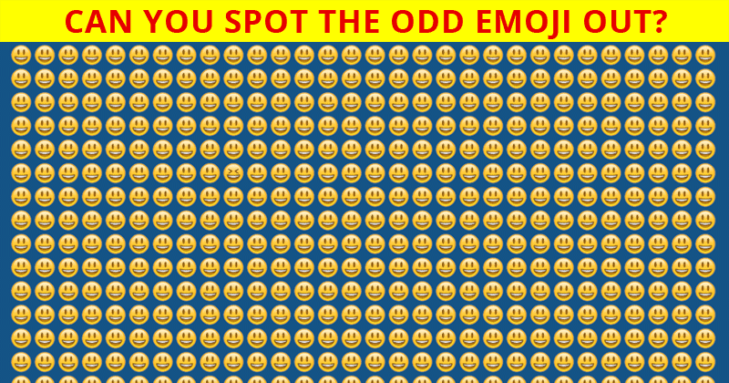 Challenge Time: Can You Spot The Odd Emoji Out In These 10 Images?