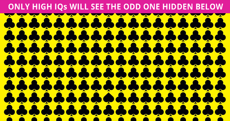 Only 1 In 30 Sharp-Eyed People Can Beat This Tough Odd One Out Visual Challenge. How About You?