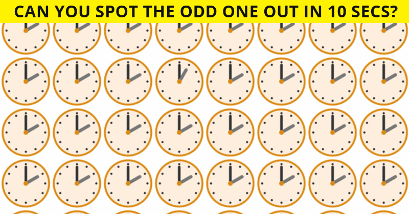 Only 1 In 30 Sharp-Eyed People Can Ace This Visual Challenge. How About You?