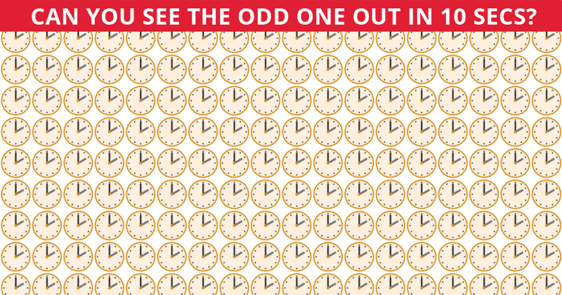 Challenge Time: This Puzzle Is Driving The Internet Insane. Can You Spot The On All Levels In Less Than 10 Seconds?