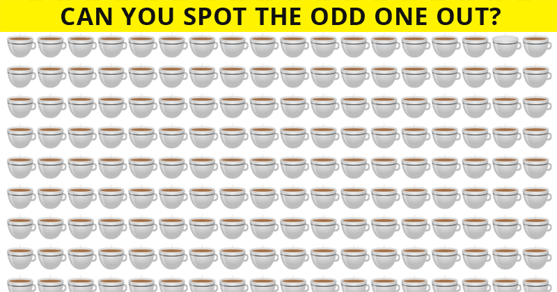 Eye Test: You've Got 10 Seconds To Spot The Odd One Out!