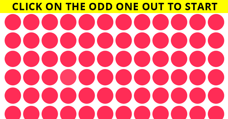 This Viral Puzzle Will Determine the Sharpness Of Your Eyesight!
