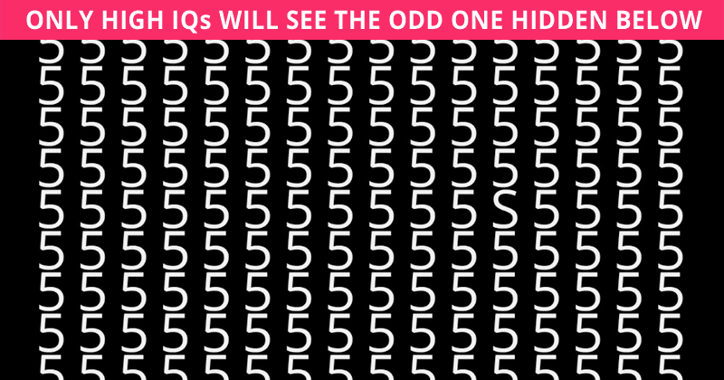 Only 6% Of Adults Can Beat This Super Tough Odd One Out Visual Puzzle. Can You?