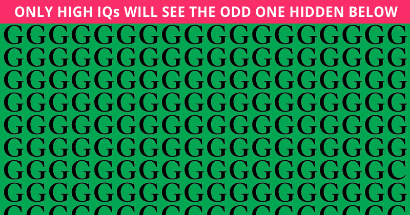 Only 4 Out Of 100 People Will Graduate From This Tricky Odd One Out Visual Puzzle! Will You?
