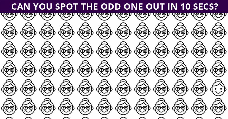 Nobody Can Solve This Test. Can You Spot The Immediately?