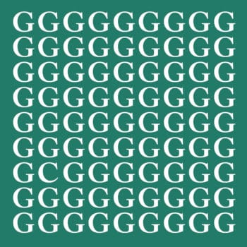 Only 4% Of People Can See The Odd Letter In These Images! Can You?