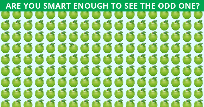 Challenge: No One Can Solve This Crazy Tough Test. Can You Spot The Odd One Out In Less Than 10 Seconds?