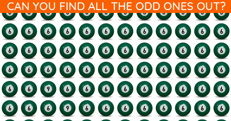 How Quickly Can You Find The Odd One Out In This Tough Visual Challenge?