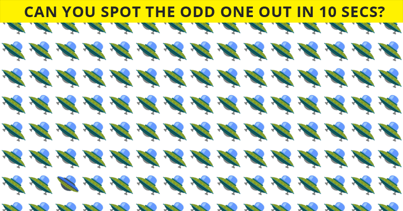 Only 5 Out Of 100 People Will Graduate From This Odd One Out Visual Quiz! Will You?