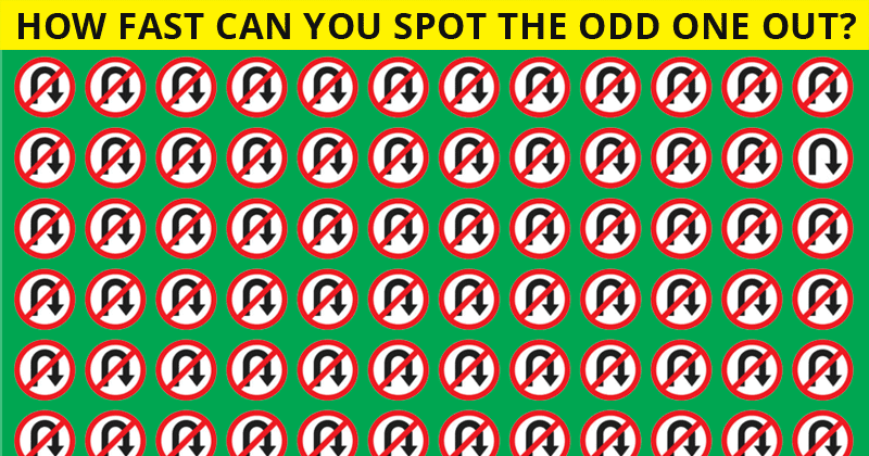 Only 1 in 25 Sharp-Eyed People Can Spot The Odd Ones Out!
