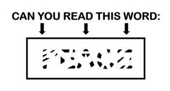 Only People With A High I.Q. Will Be Able To Read These Erased Words