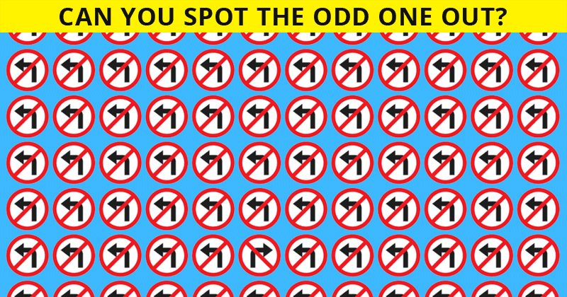 Try Finding The Different One To See If You're Super Intelligent