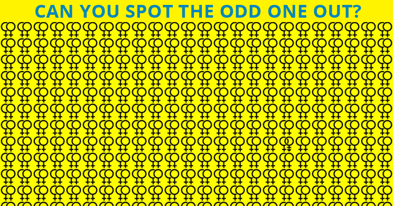 Almost No One Can Achieve 100% In This Visual Puzzle. Are You Up To The Task?