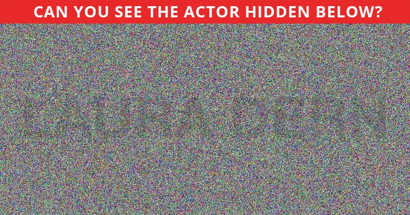 Nobody Can Solve This Test. Can You Spot The Hidden Actor On All Levels In Less Than 10 Seconds?