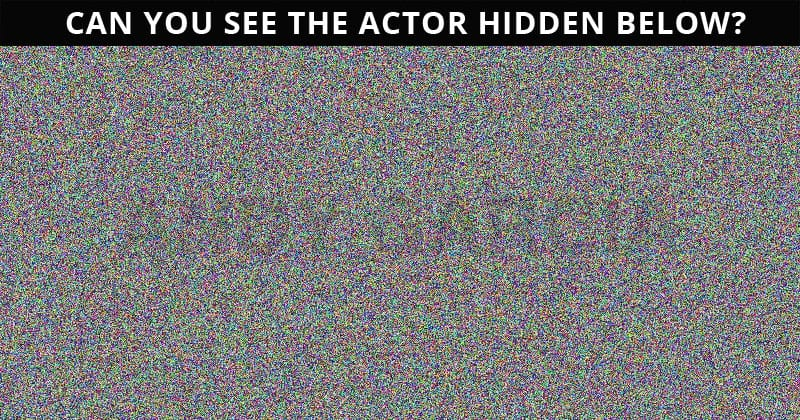 Only 1 In 30 Sharp-Eyed People Can Achieve 100% In This Difficult Hidden Actor Visual Test. How About You?