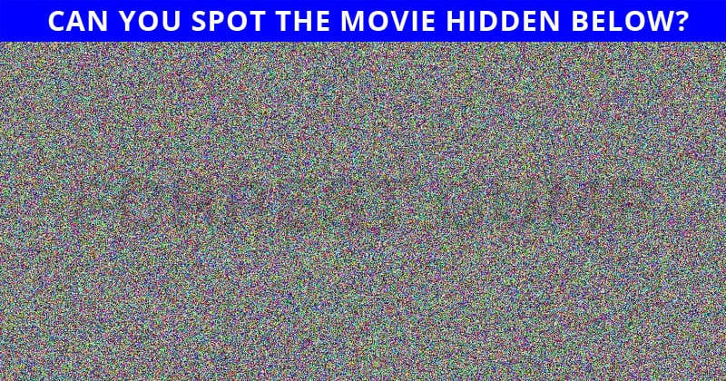 Only 4% Of People Can Ace This Hidden Movie Visual Puzzle. Are You Up To The Challenge?