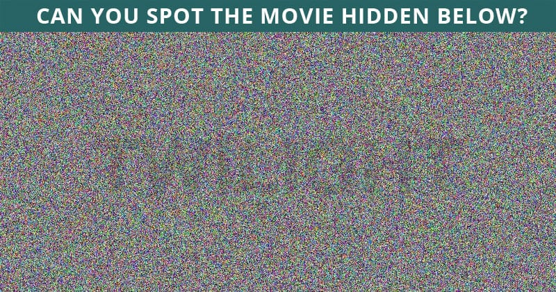 Only 4% Of People Can Beat This Difficult Hidden Movie Puzzle. How About You?