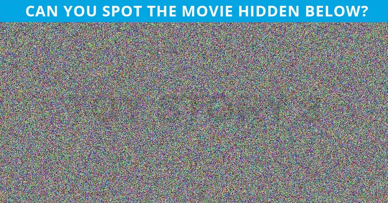 Only 1 In 30 Sharp-Eyed People Can Ace This Challenging Hidden Movie Test. How About You?