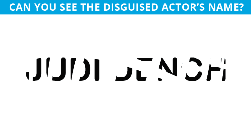 This Hidden Actor Game Will Determine Your Visual Perception Talents In 60 Seconds