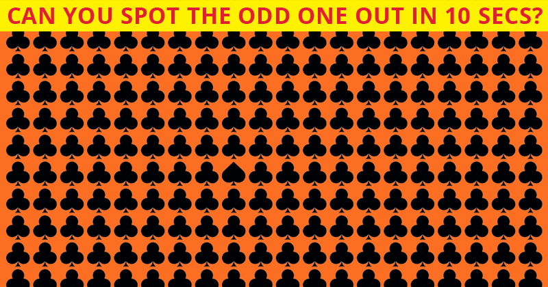Only 6% Of People Can Beat This Odd One Out Visual Puzzle. Are You Up To The Challenge?