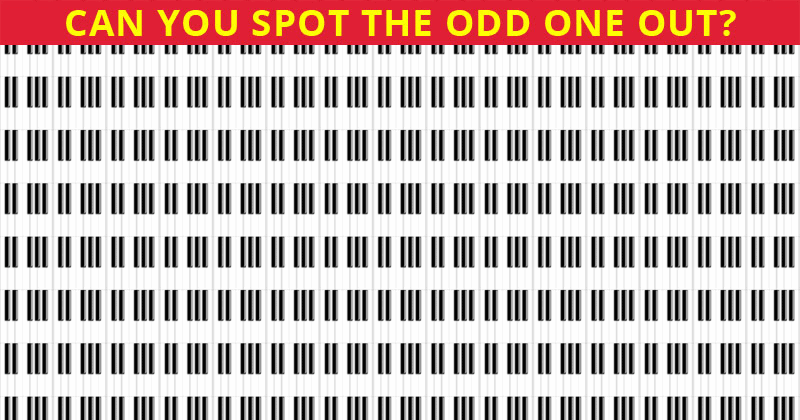 How Quickly Can You Find The In This Tough Visual Challenge?