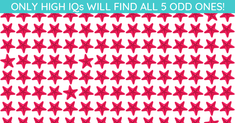 Only 1 In 35 People Can Ace This Odd One Out Visual Game. Are You Up To The Challenge?