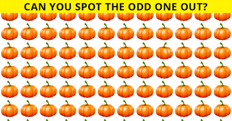 Only 25 People Have Passed This Odd One Out Visual Challenge So Far! Will You?