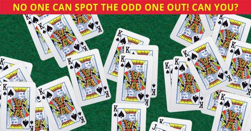 Only 1 In 25 People Can Beat This Challenging Odd Card Out Quiz. How About You?