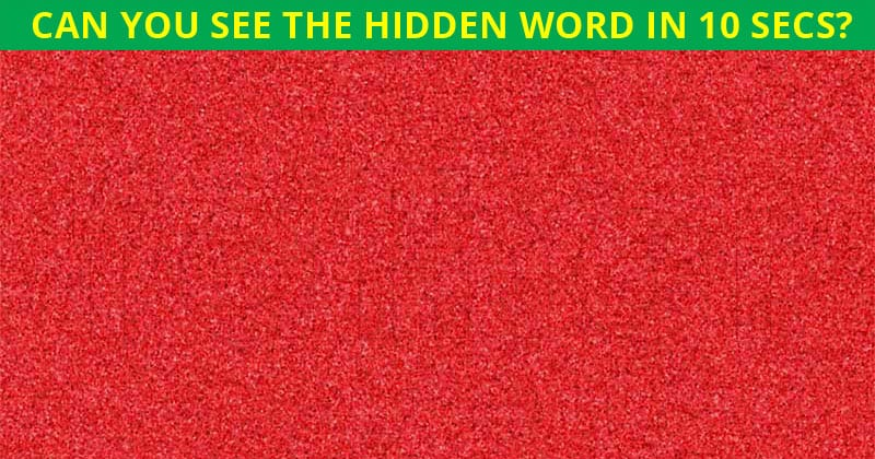Only 4% Of People Can Beat This Disguised Word Puzzle. Are You Up To The Challenge?