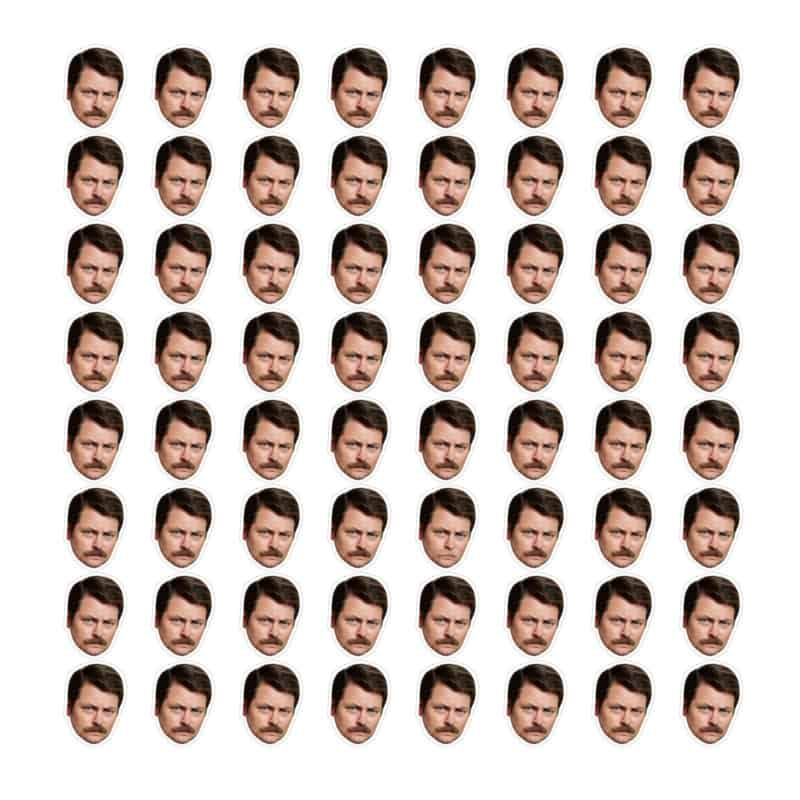 Challenge Time: Can You Spot The Odd Ron Swanson?